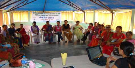 Orientation training to women migrant workers