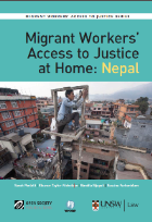 Report Launch — Migrant Workers' Access to Justice at Home: Nepal
